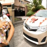 Laura ikeji-Kanu gets new car and cash as birthday gift (photos)