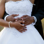 Nigerian groom slaps bride at their wedding reception
