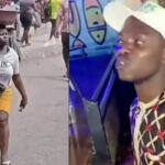 Video: Man proposes to Lagos amputee hawker who was supported with over N14 Million