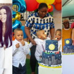 PHOTOS: Estranged wife Precious absent as FFK and 'new partner' throw birthday party for triplet sons