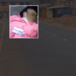 PHOTO: Hit-and-run driver knocks down LAUTECH female student in Lagos