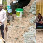 PHOTOS: 2 Nigerians, 6 others arrested as Uganda Police bust fake dollar and gold racket