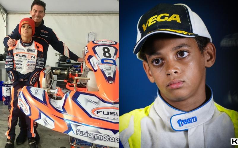 British racing giant, McLaren, signs 13-year-old Nigerian-American Ugo  Ugochukwu » NEWS