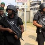 DSS Officials at court premises