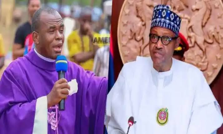 Mbaka informs the National Assembly that if Buhari does not resign, he will be impeached.