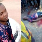 PHOTOS: Passer-by killed, another injured as gunmen in military uniform attack Benue revenue inspection point