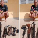 Police arrest 'Nollywood actor' who hired guns to shoot movie in Delta