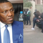 Bank workers storm Senator Andy Uba's house in Abuja, over his 'unpaid loan'