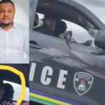 "Activist, Harrison Gwamnishu, raises alarm over ""assassination attempt"" by men riding in a police van"
