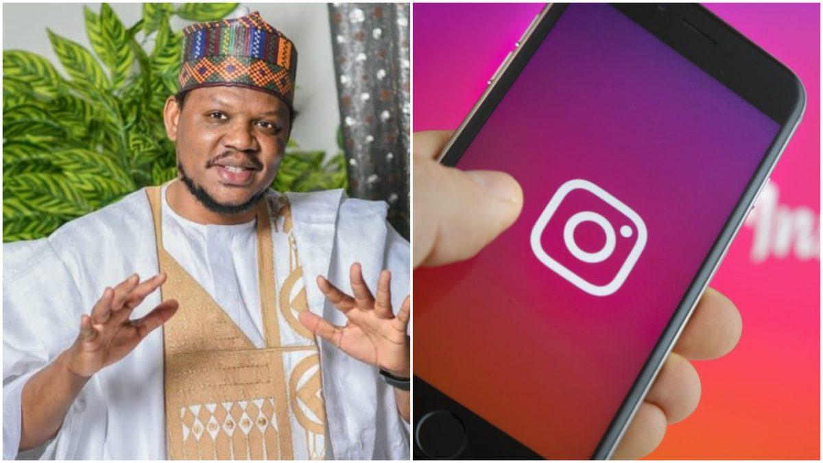 Adamu Garba's Instagram account suspended