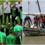 Super Eagles to travel by boat to Cameroon for 2021 AFCON
