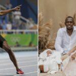 PHOTOS: Legendary sprinter Usain Bolt and lover Kasi welcome twins; Thunder and Saint Bolt