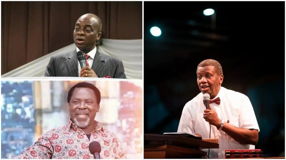 TB Joshua: Adeboye, Oyedepo, big pastors are threat to Christian unity - Primate Ayodele