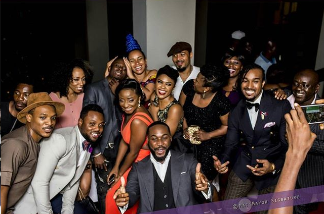 nollywood stars amvca after party