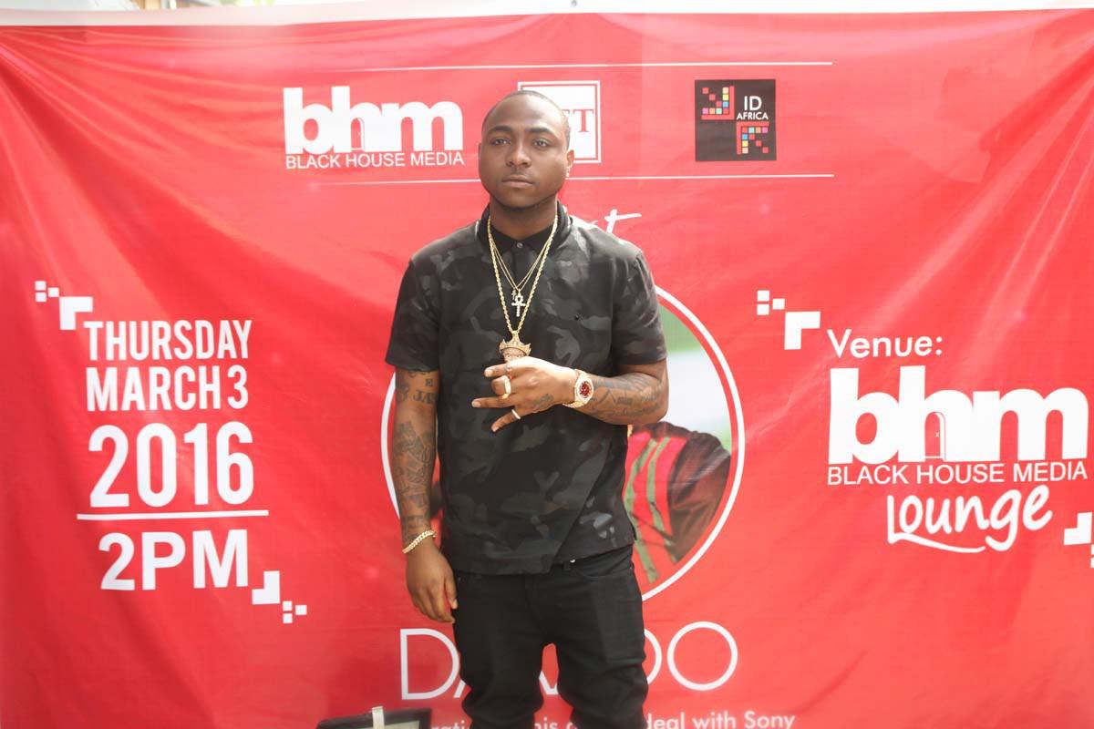 Davido BHM Lagos
