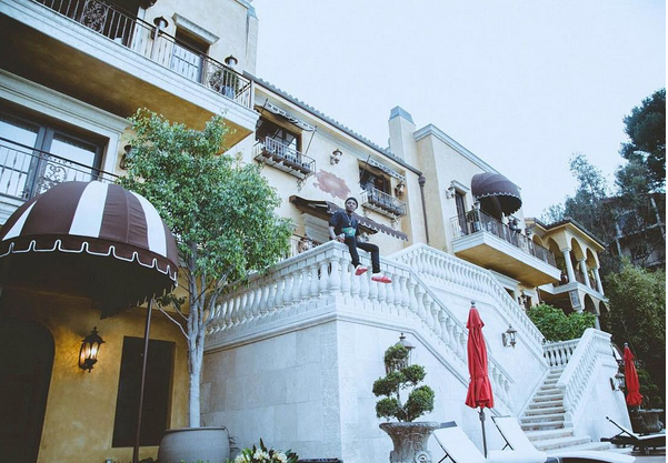 wizkid's new mansion