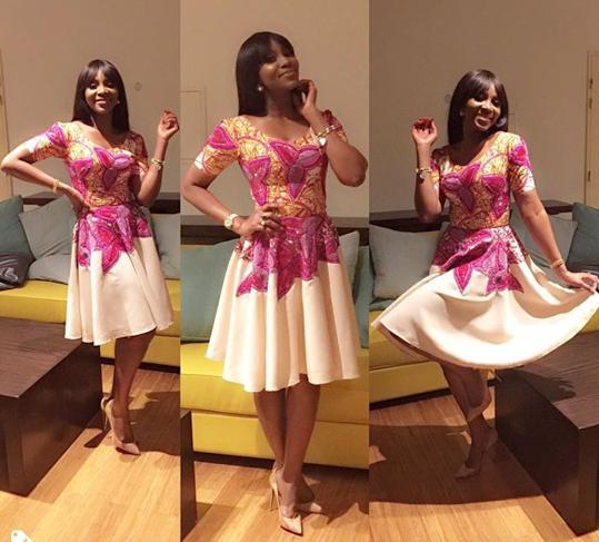Genevieve Nnaji at AMVCA nominees