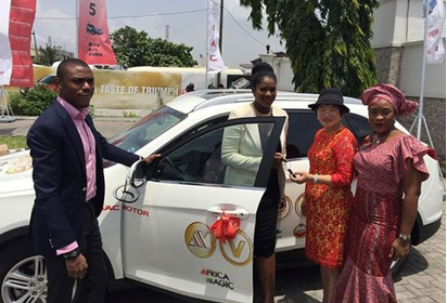 stephanie linus amvca2016 car