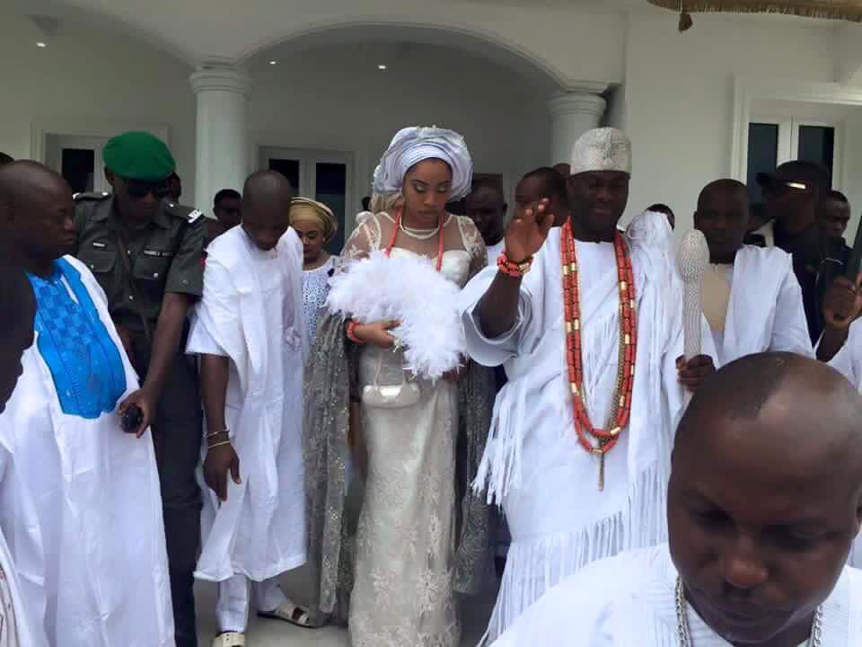 ooni of ife and his olori thanksgiving photos