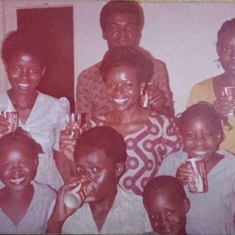 Singer Wumi Obe shares a throwback 70s family photo