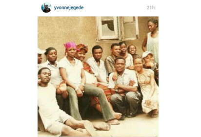 yvonne jegede throwback photo