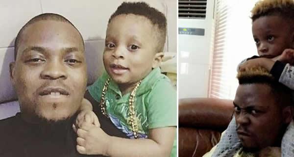 Olamide celebrates his son on his birthday