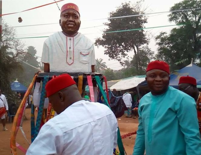 Photos: Another statue has been erected in Imo State