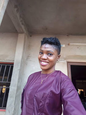 "Photos: ""I had to pass through the terror of having my face stitched"" - Lady narrates how she was hit and dragged along the road by Okada rider"