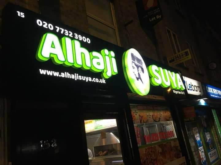 Nigerian man opens Suya Spot in UK (Photos)
