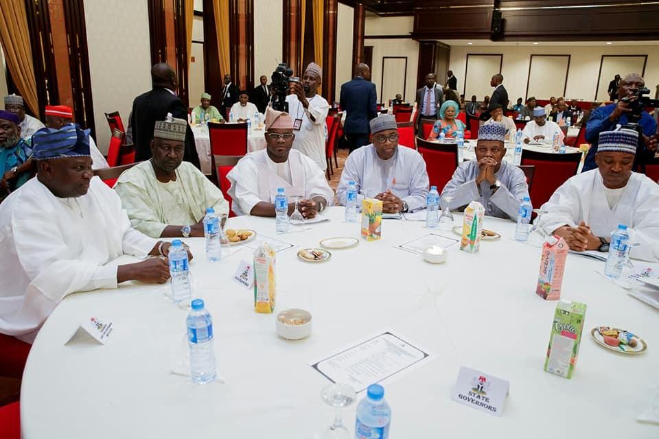 Photos: President Buhari presides over APC Caucus