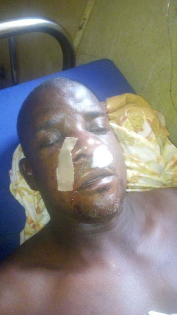 Photos: Suspected Fulani herdsmen attack a Pastor in Taraba State