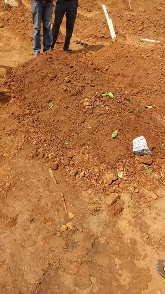 Photos from the burial of Senator Ali Wakili in Abuja