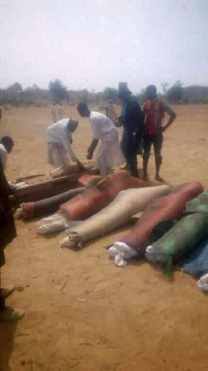 Armed bandits kill 7, abduct pregnant woman in Zamfara (photos)