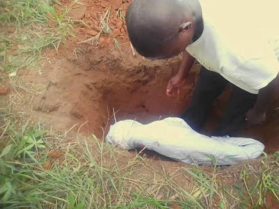 The two pupils who were brutally hacked to death by mentally deranged man, laid to rest in Ogun (photos)