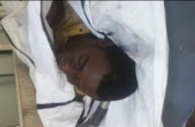 Photos/Video: Nigerian man found dead in garbage can in India