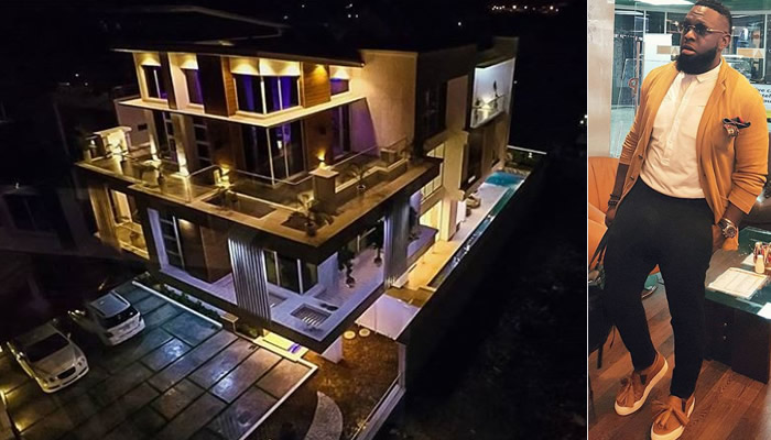 More photos of Timaya's new luxury mansion in Lagos