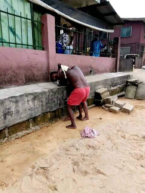 Photos show older half-naked woman fighting with a younger lady in Delta State