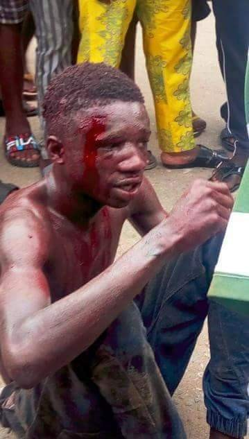 Jungle Justice: Suspected murderer burnt to death by angry mob in Rivers State (graphic photos)