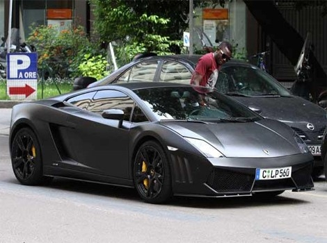 Image result for sulley muntari lamborghini