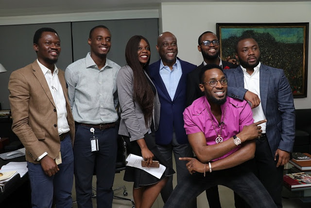 Herbert Wigwe, Access Bank GMD shows support for Mo?Hits reunion concert on Instagram Live session with D