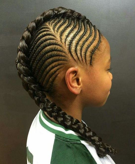 5 Beautiful Ghana Weaving Hairstyles For Kids