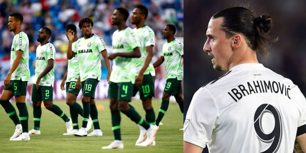 ed4aff60565 WorldCup2018  Sweden legend Zlatan Ibrahimovic sends a goodwill ...