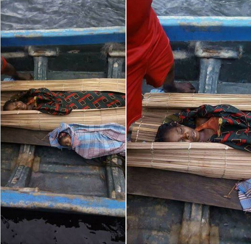 Heartbreaking photos of a mother and her daughter killed during a military raid in Bayelsa