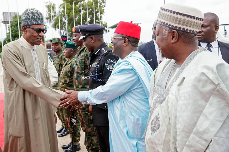 Photos:?President Buhari departs Abuja for?Morocco on a two - day official visit