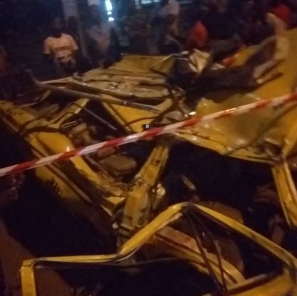 Update:Two bodies recovered so far from the Ojuelegba container accident (Photos)