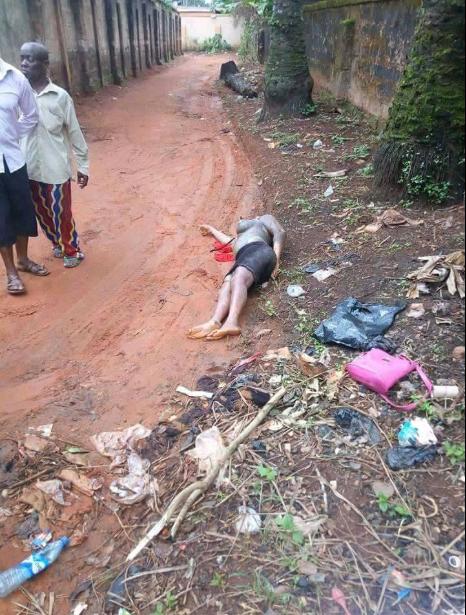 Alleged sidechic murdered in Anambra state by her sugar daddy