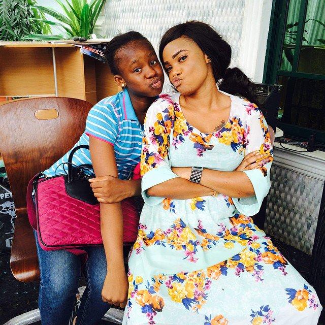 Iyabo Ojo nd daughter