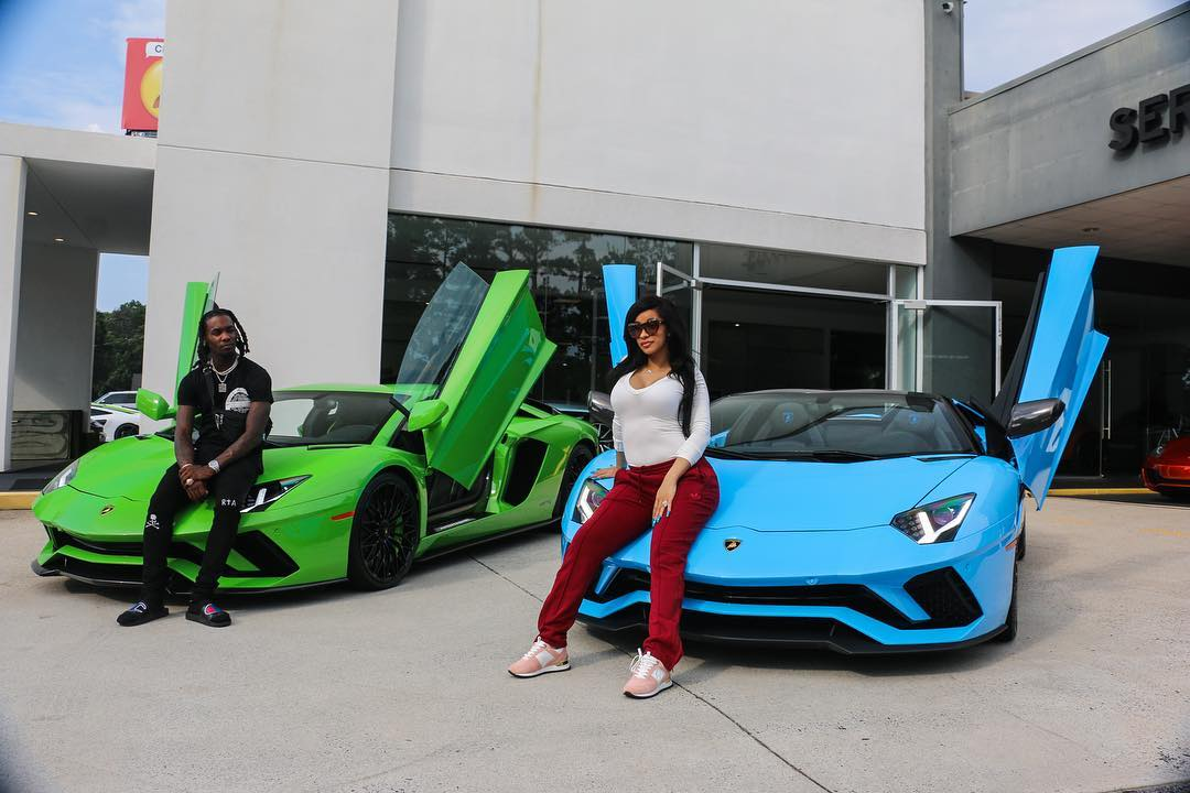 cardi-b-and-offset-show-off-their-lamborghinis-on-instagram-1