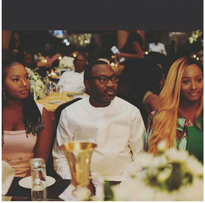 Comedian Kennyblaq Thanks Femi Otedola & Daughters For