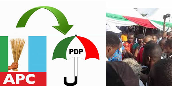 1000 APC Members Join PDP In Delta » Within Nigeria